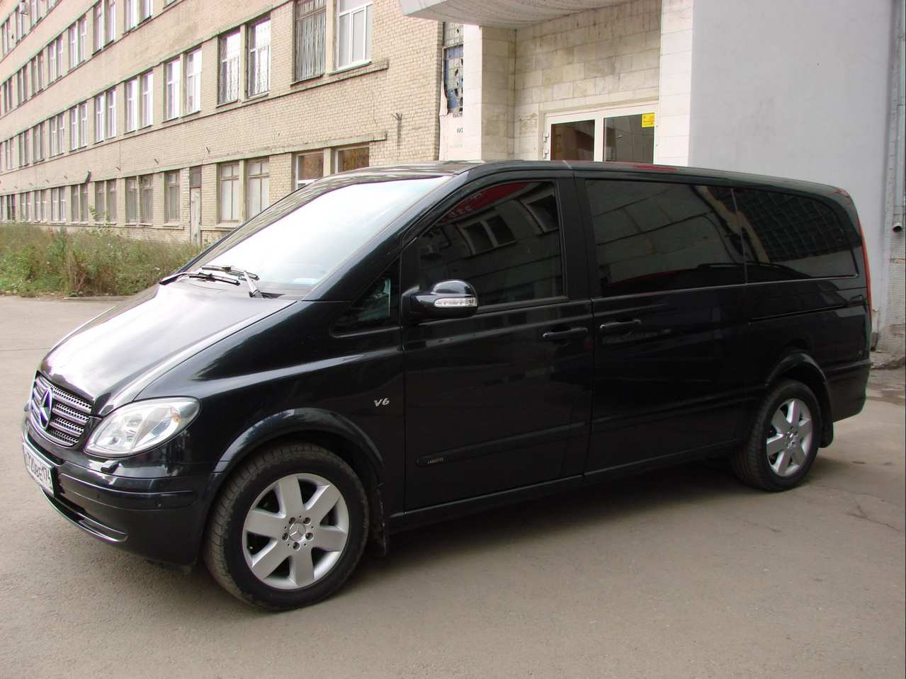 2008 Mercedes Benz Viano Pictures 3 5l Gasoline Fr Or