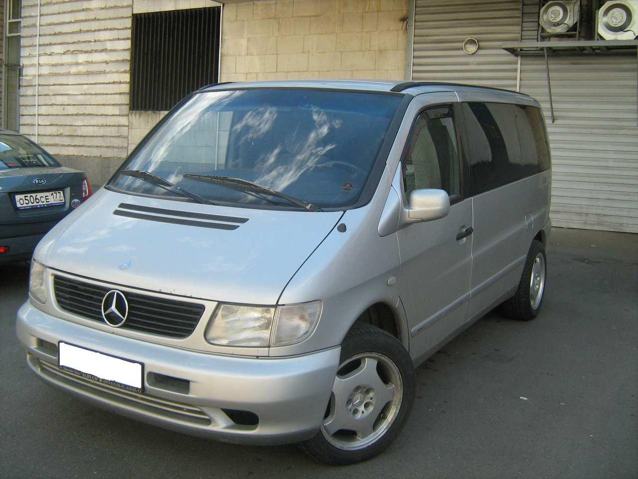 1998 mercedes benz vito pictures 2800cc gasoline ff for Mercedes benz vito for sale
