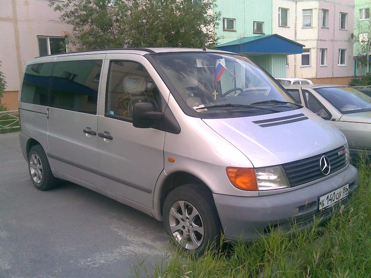 1999 Mercedes Benz VITO specs, Fuel type Diesel, Drive wheels FF, Transmission Gearbox Manual