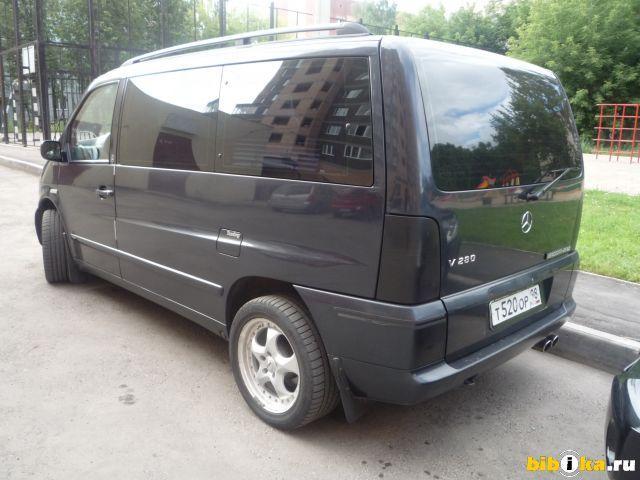 1999 mercedes benz vito pictures 2800cc gasoline ff for Mercedes benz vito for sale