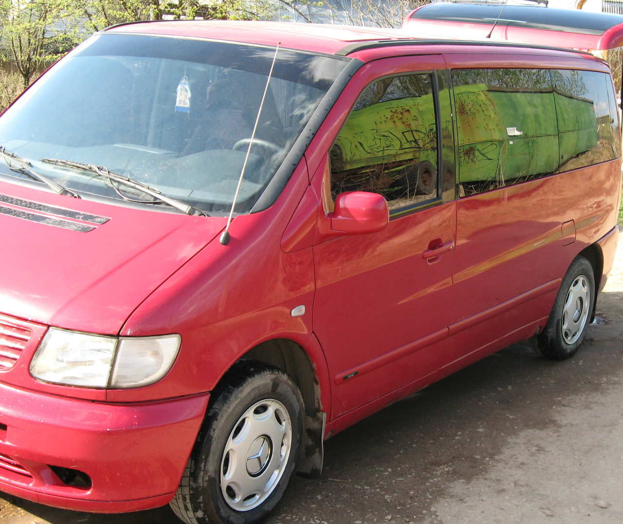 2000 mercedes benz vito pictures diesel ff for Mercedes benz vito for sale