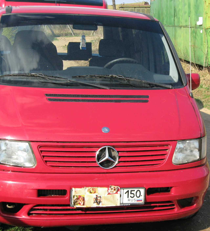 Used 2000 mercedes benz vito photos 2148cc diesel ff for Mercedes benz vito for sale