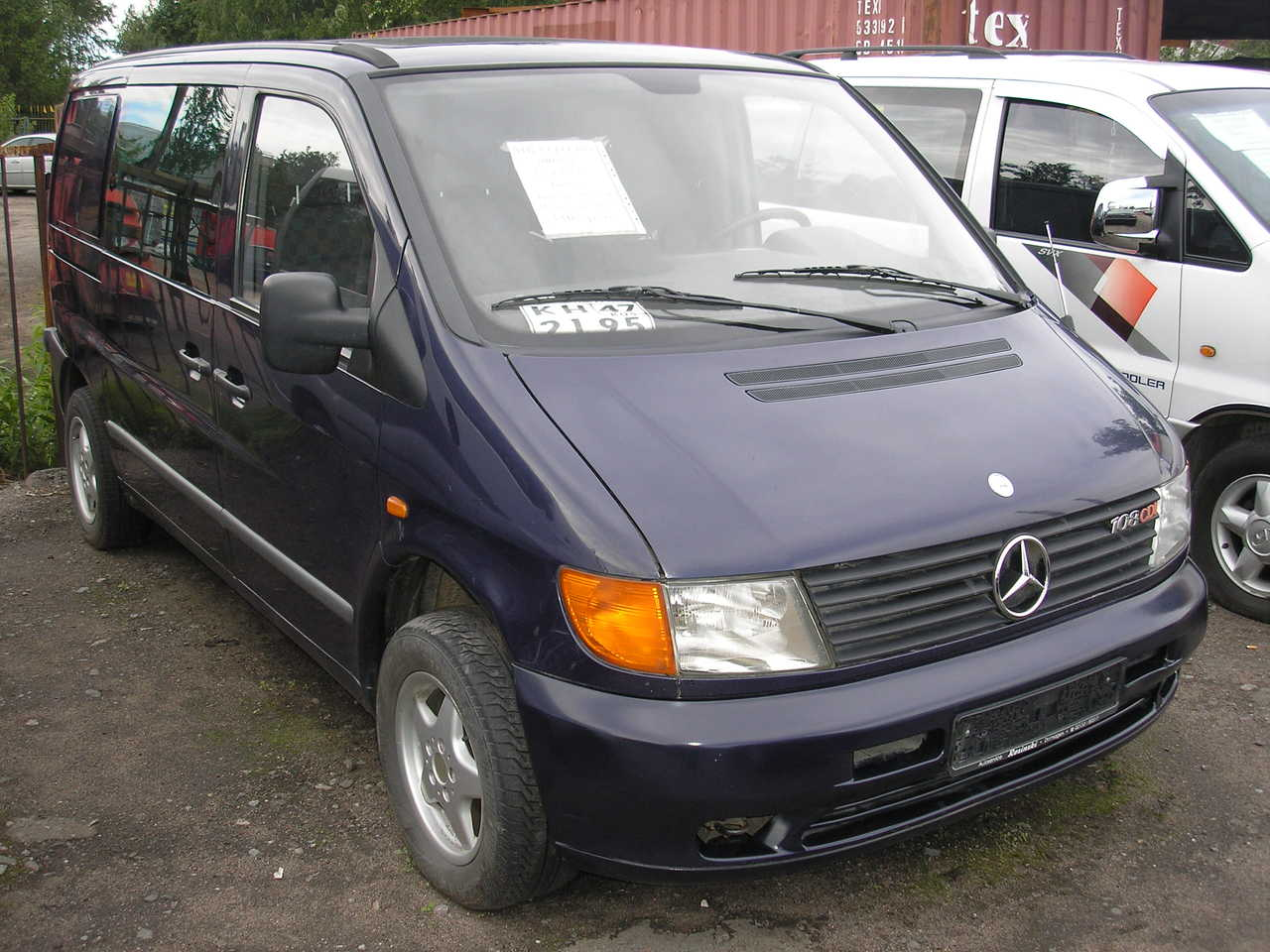 2000 mercedes benz vito photos 2 2 diesel ff for sale for Mercedes benz vito for sale
