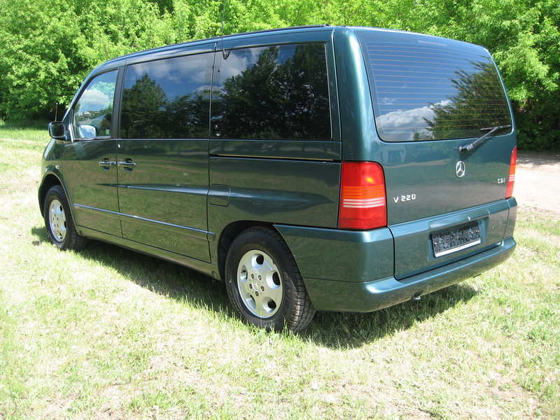 2001 mercedes benz vito pictures 2200cc diesel ff for Mercedes benz vito for sale