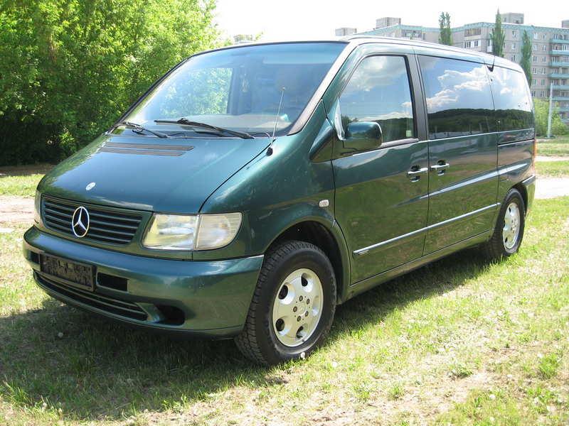 2001 Mercedes Benz VITO Images, 2200cc., Diesel, FF ...