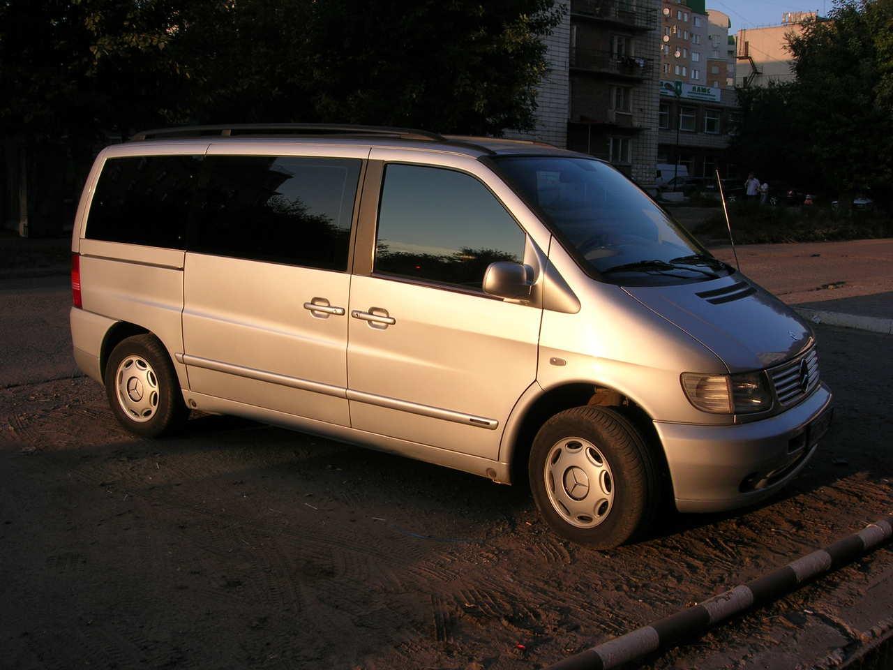 2001 Mercedes Benz VITO Pictures, 2.2l., Diesel, FF ...