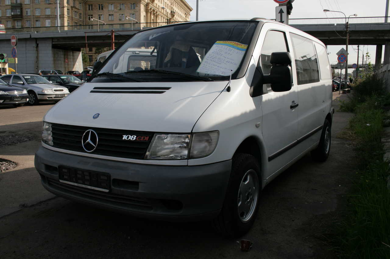 2001 mercedes benz vito pictures 2200cc diesel for sale for Mercedes benz vito for sale