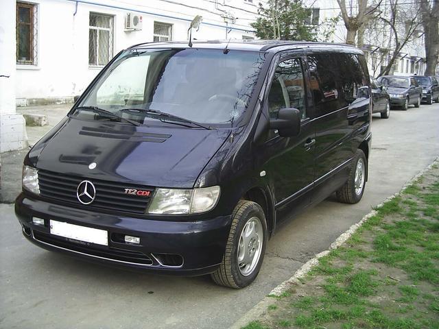2002 mercedes benz vito pictures 1220cc diesel ff for Mercedes benz limp mode