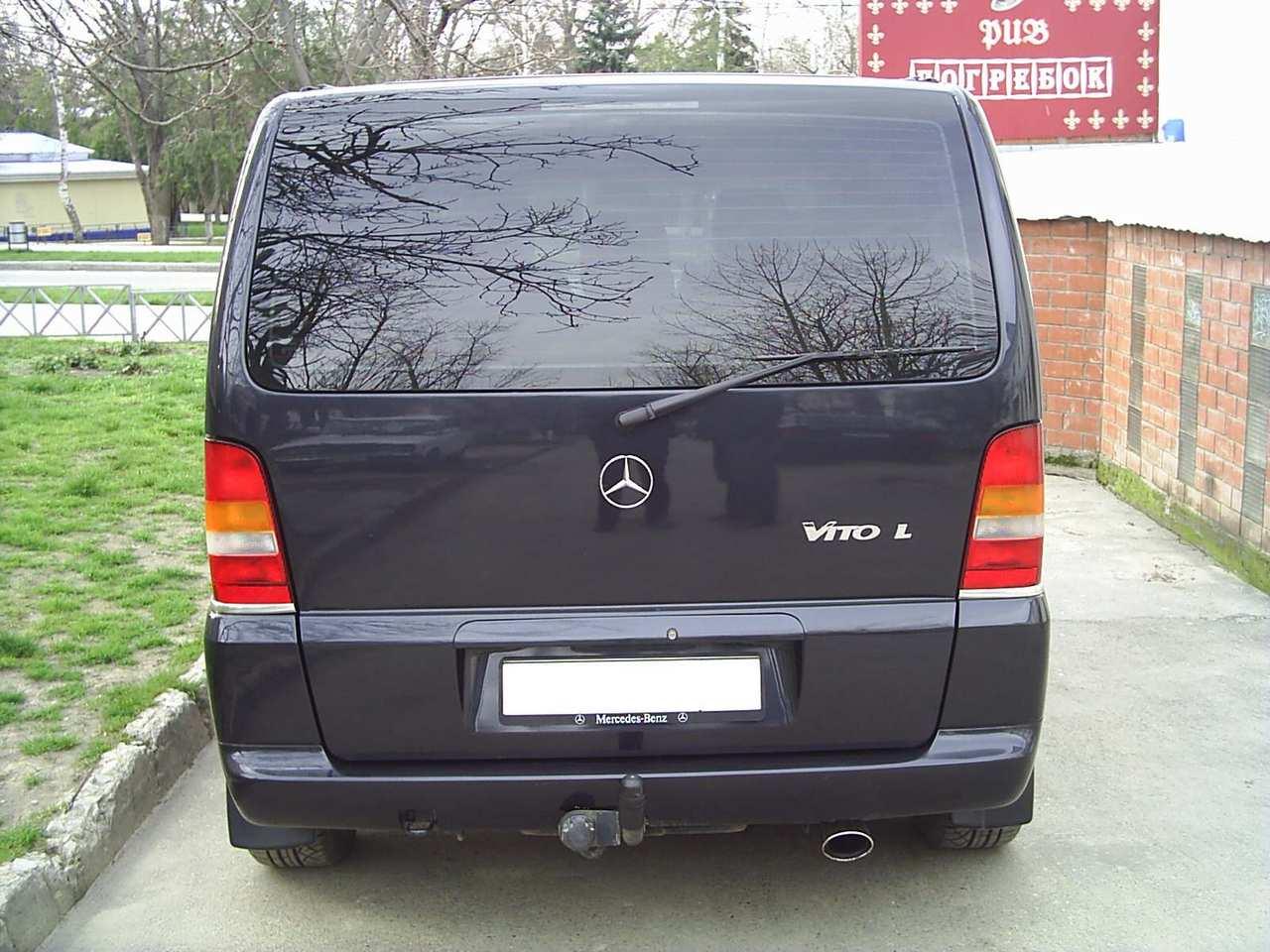 2002 Mercedes Benz VITO specs, Engine size 2.2, Fuel type ...