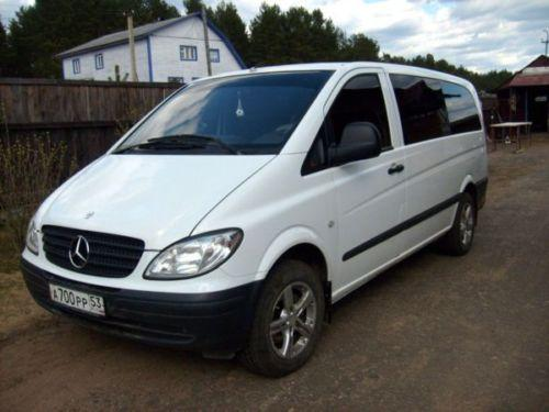 2004 mercedes benz vito photos diesel fr or rr for Mercedes benz vito for sale