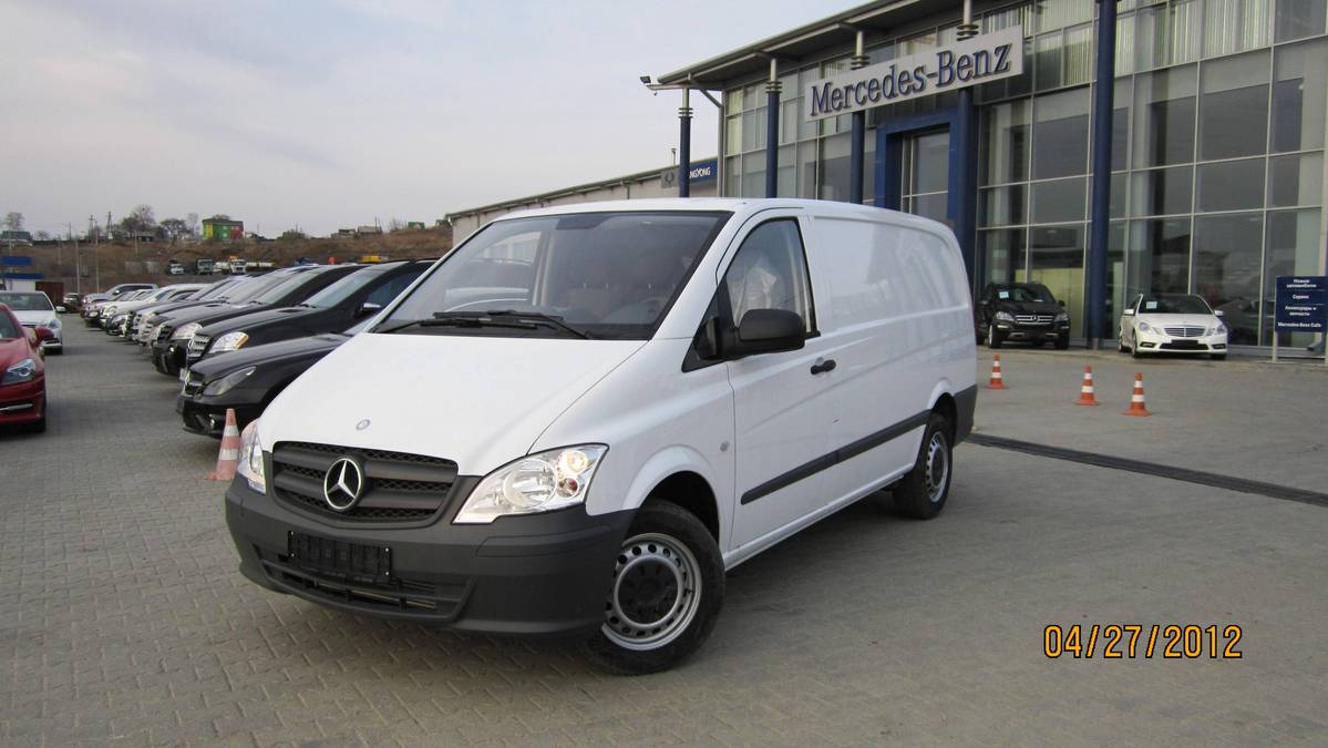 2012 mercedes benz vito photos 2 2 gasoline fr or rr for Mercedes benz vito for sale