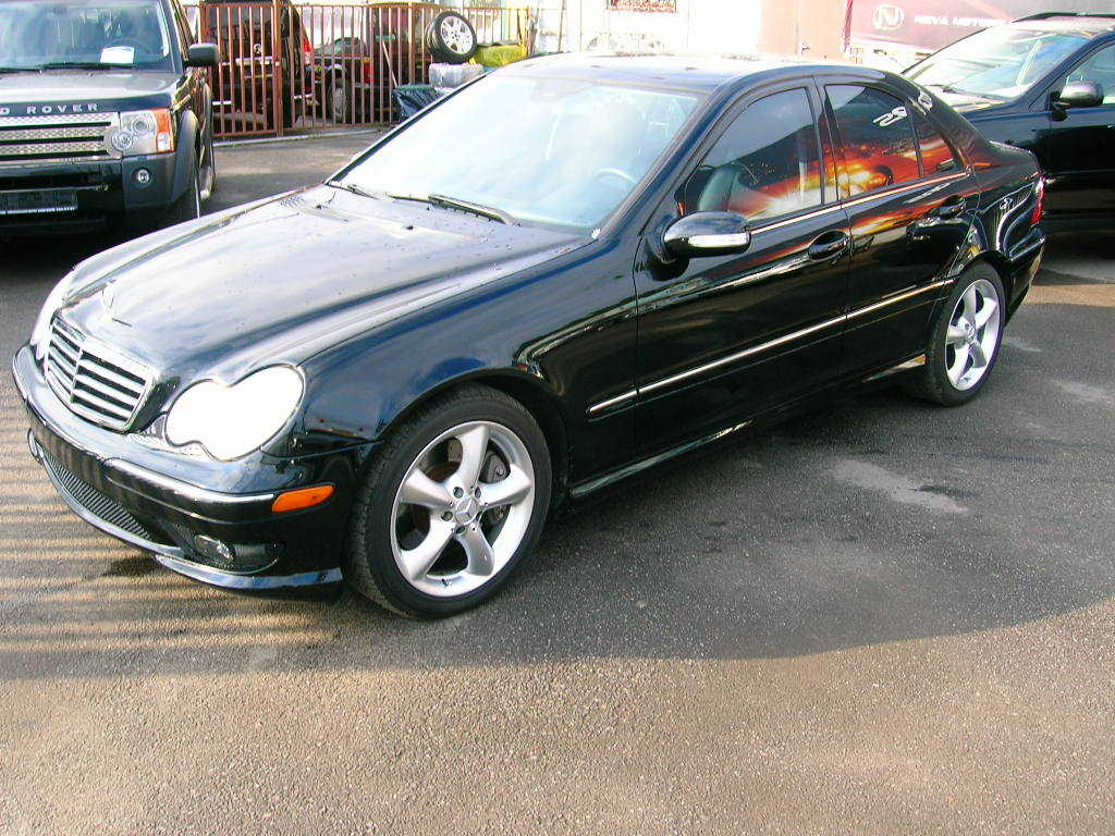 2005 mercedes benz w203 for sale 1 8 gasoline fr or rr for Mercedes benz 2005 for sale