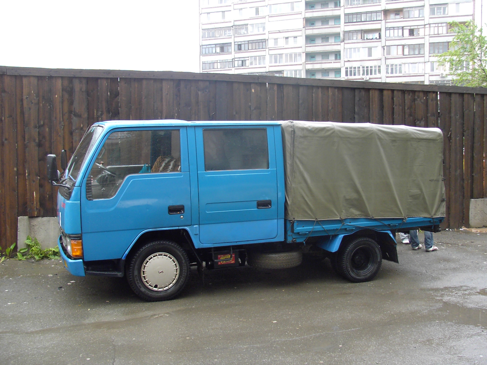Canter truck sale double cabin 4wd japan import jpn car - 1990 Mitsubishi Canter