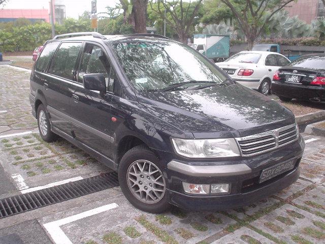 2001 Mitsubishi Chariot Wallpapers