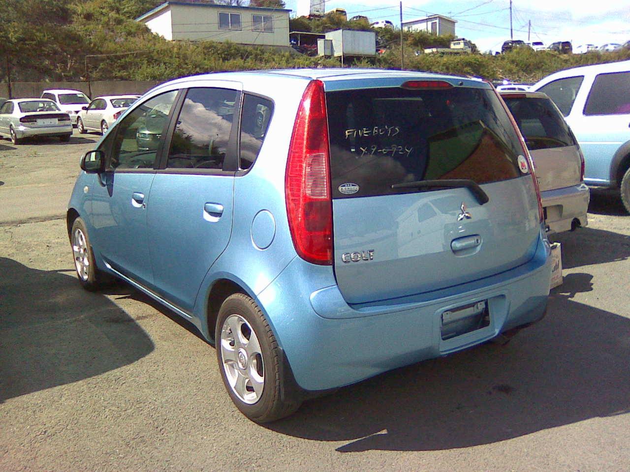 2003 Mitsubishi Colt Pictures 1 3l Gasoline Ff