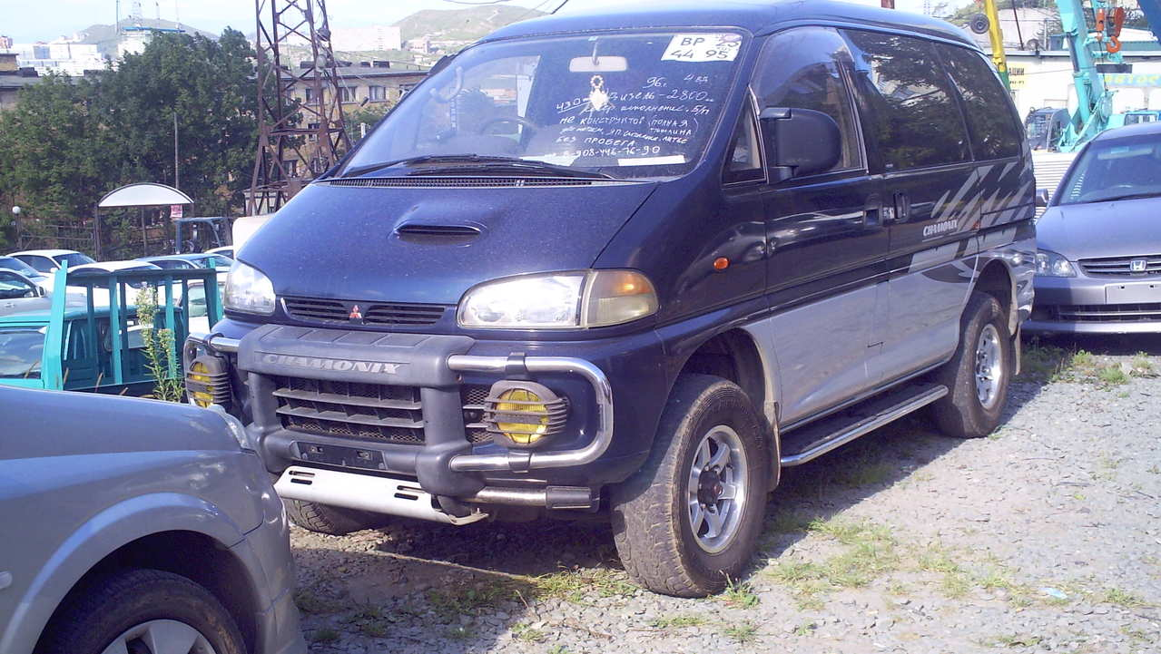 What Transmission Do I Have >> 1996 Mitsubishi Delica VAN specs, Fuel type Diesel, Transmission Gearbox Automatic
