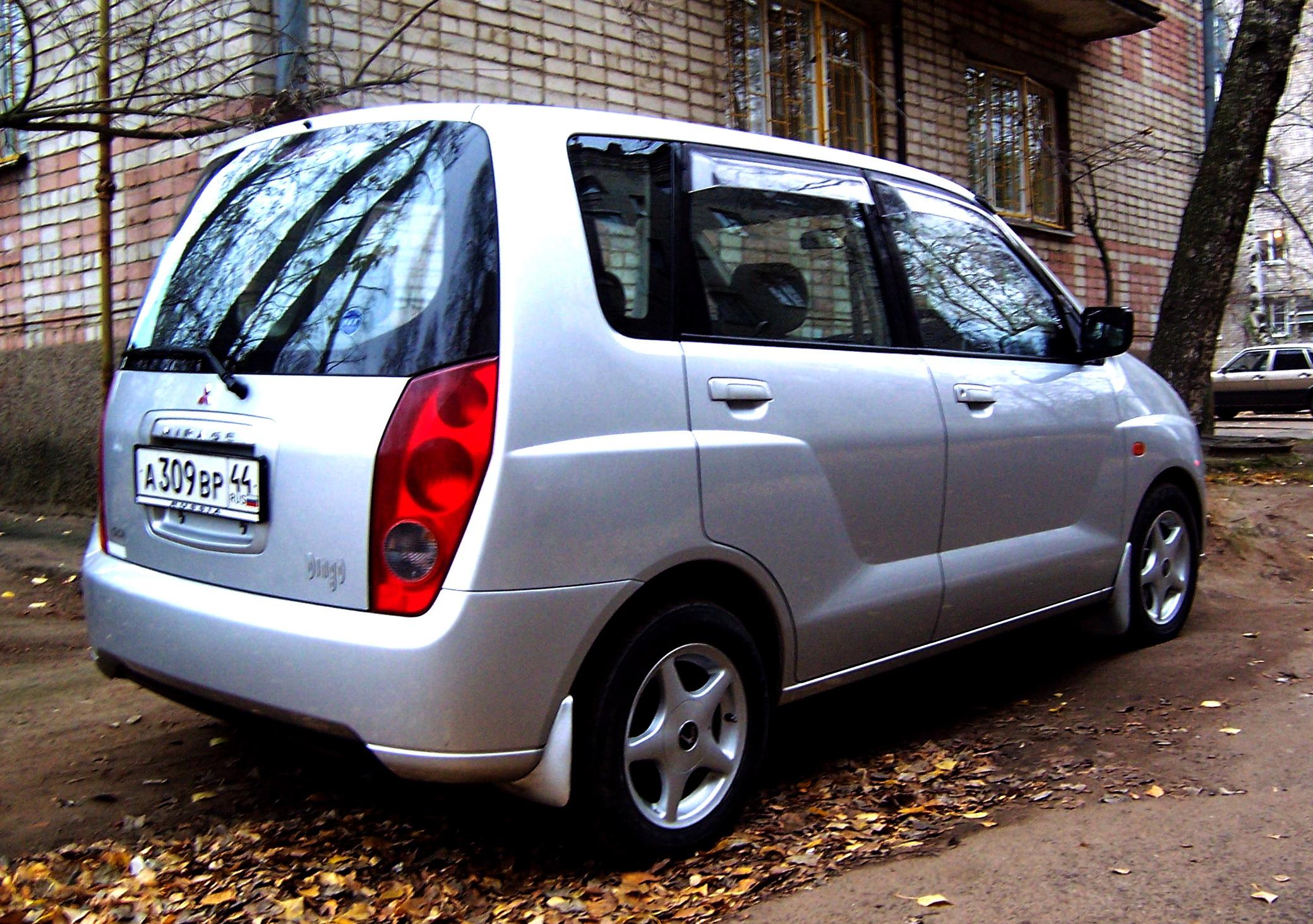mitsubishi dingo, 2000 1.5