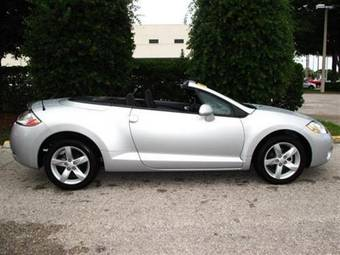 2008 mitsubishi eclipse spyder for sale 2400cc gasoline. Black Bedroom Furniture Sets. Home Design Ideas
