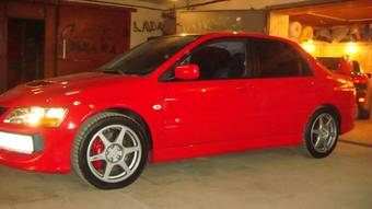 2004 Mitsubishi Evolution X Photos