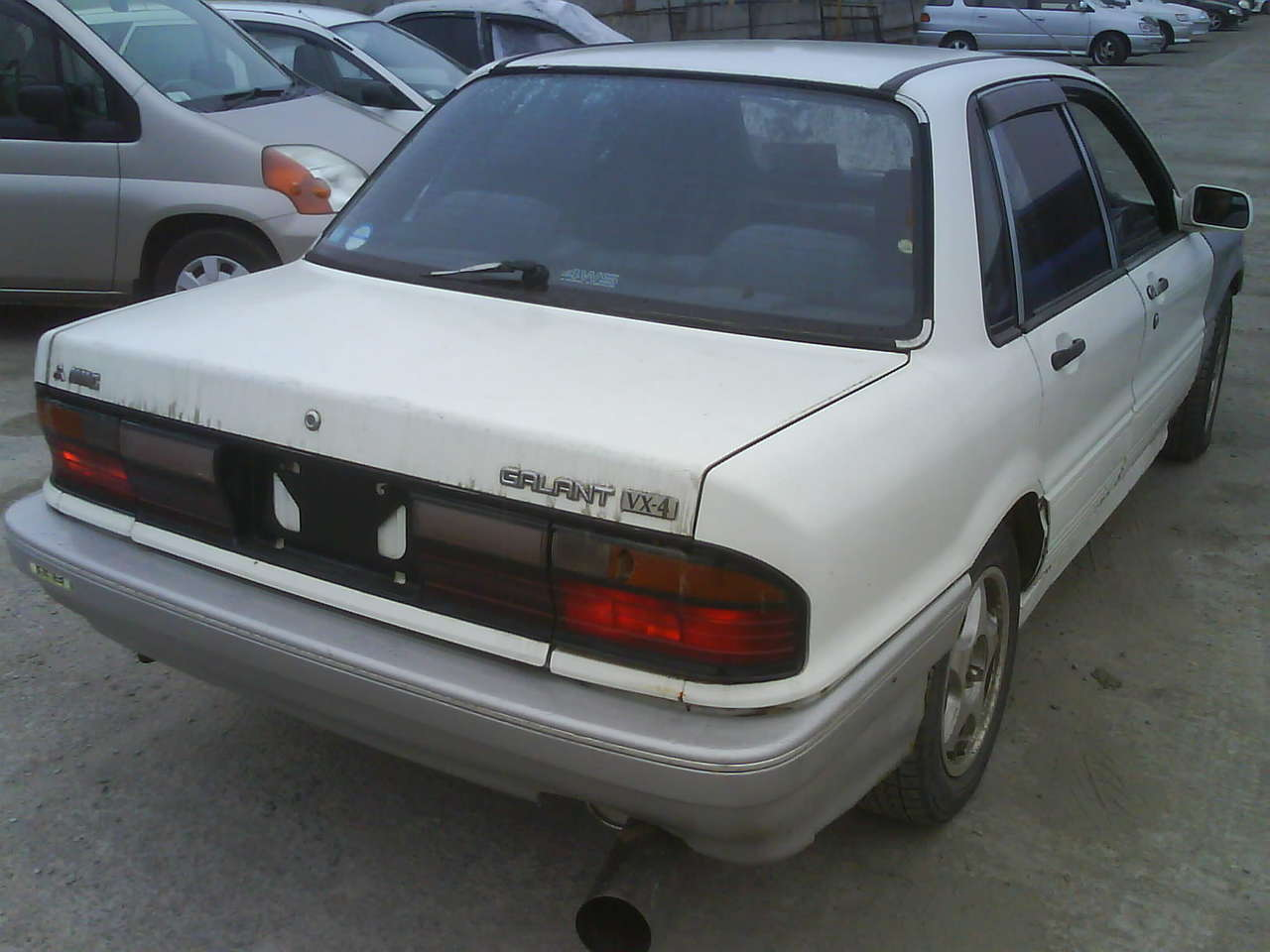1992 Mitsubishi Galant Pictures, 2000cc., Gasoline, Manual For Sale