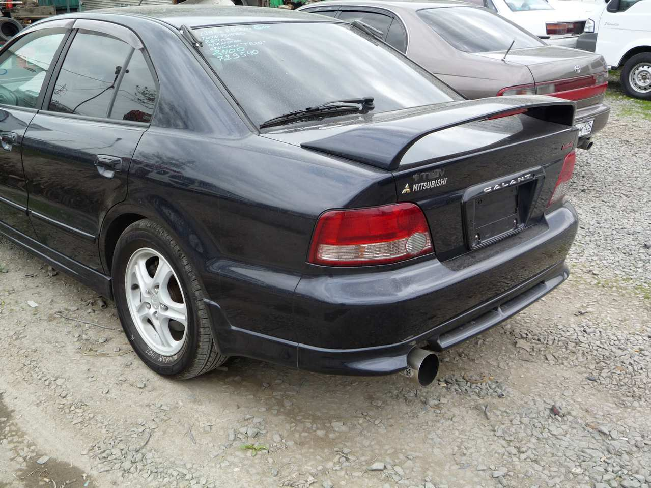 1997 Mitsubishi Galant Pictures, 2.5l., Gasoline, Automatic For Sale