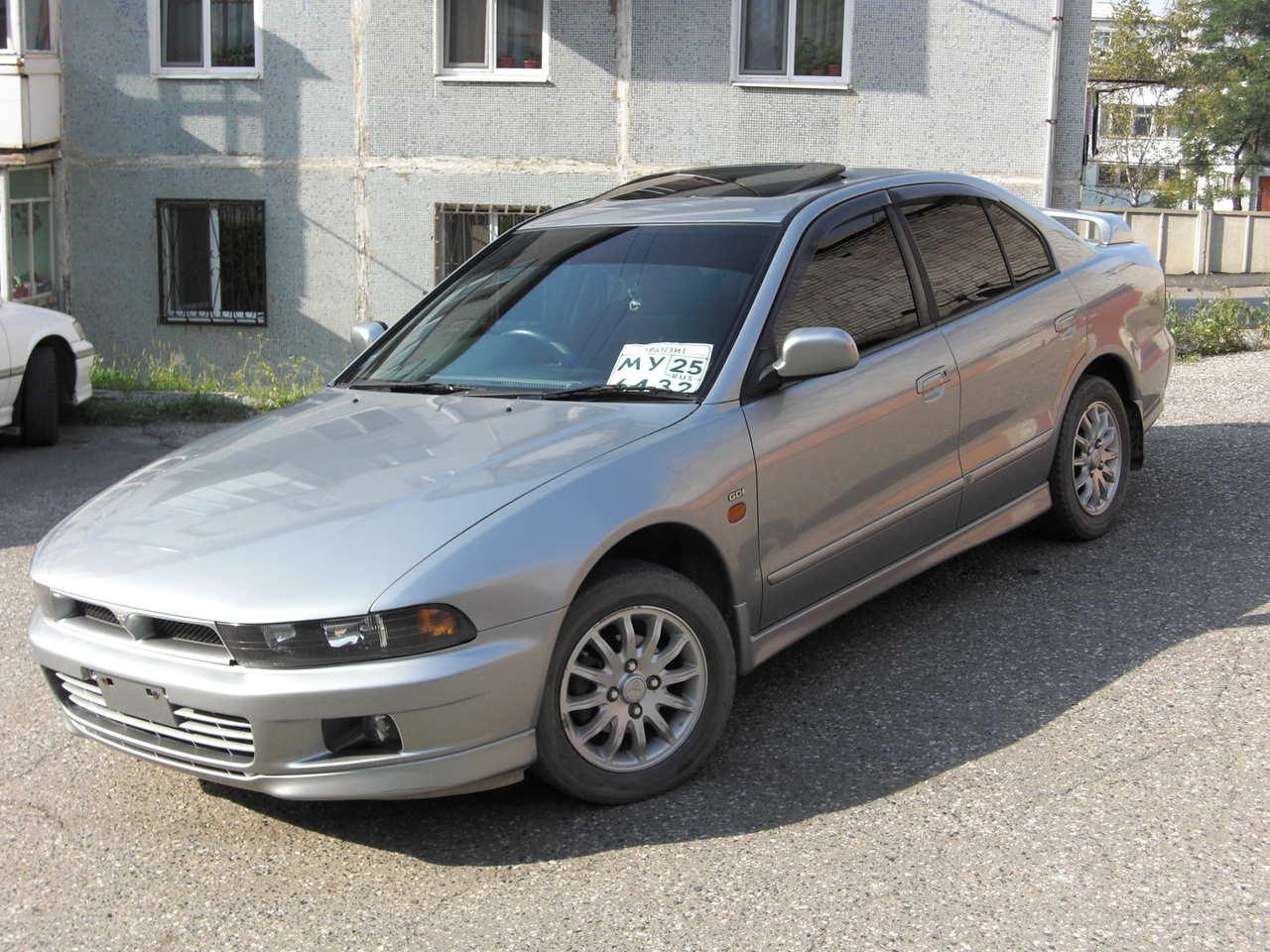 1997 Mitsubishi Galant Pictures, 1.8l., Gasoline, Automatic For Sale