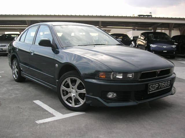 2001 Mitsubishi Galant Pictures