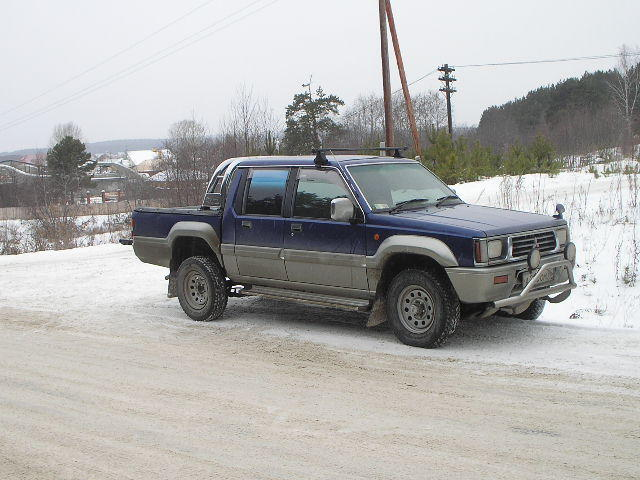 1993 Mitsubishi L200 Pictures, 2.5l., sel, Manual For Sale