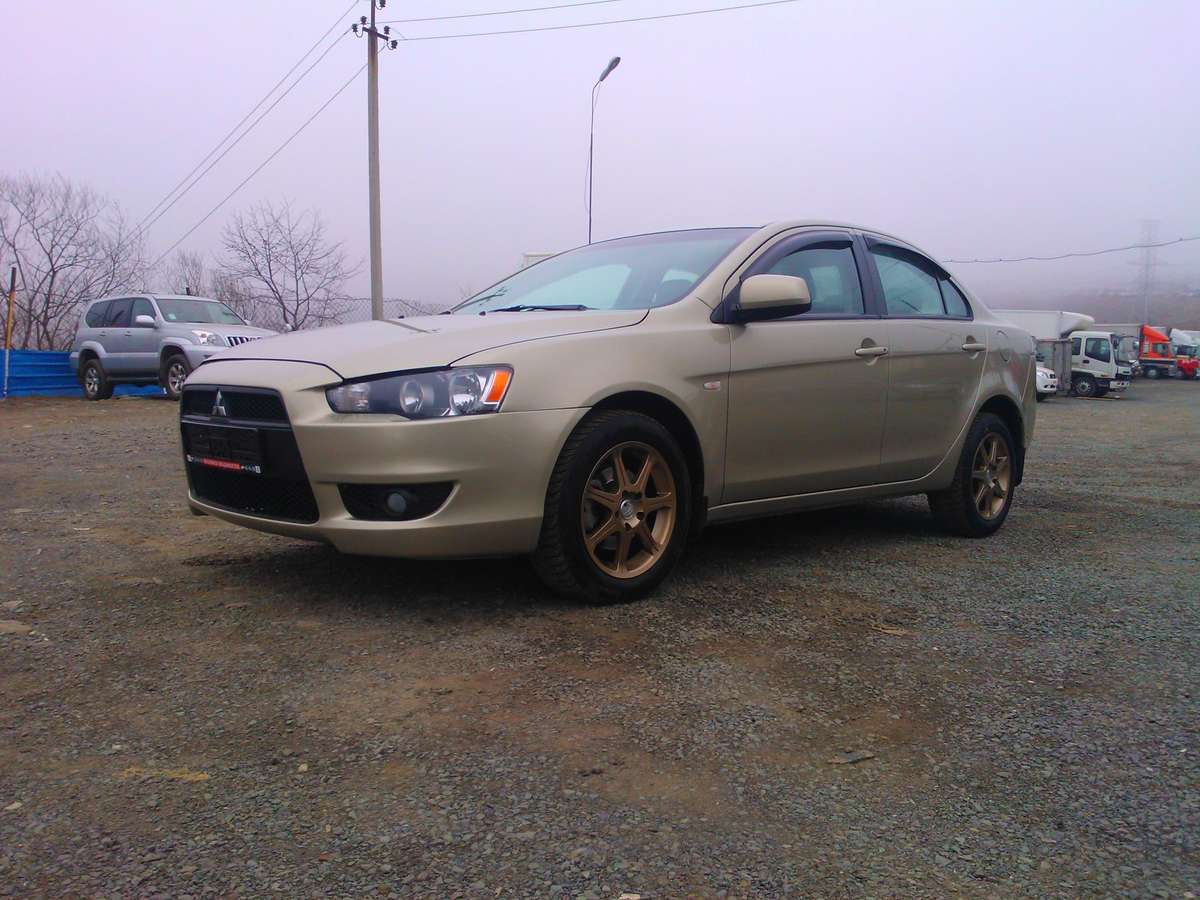 used 2010 mitsubishi lancer photos 1500cc gasoline ff manual for sale. Black Bedroom Furniture Sets. Home Design Ideas