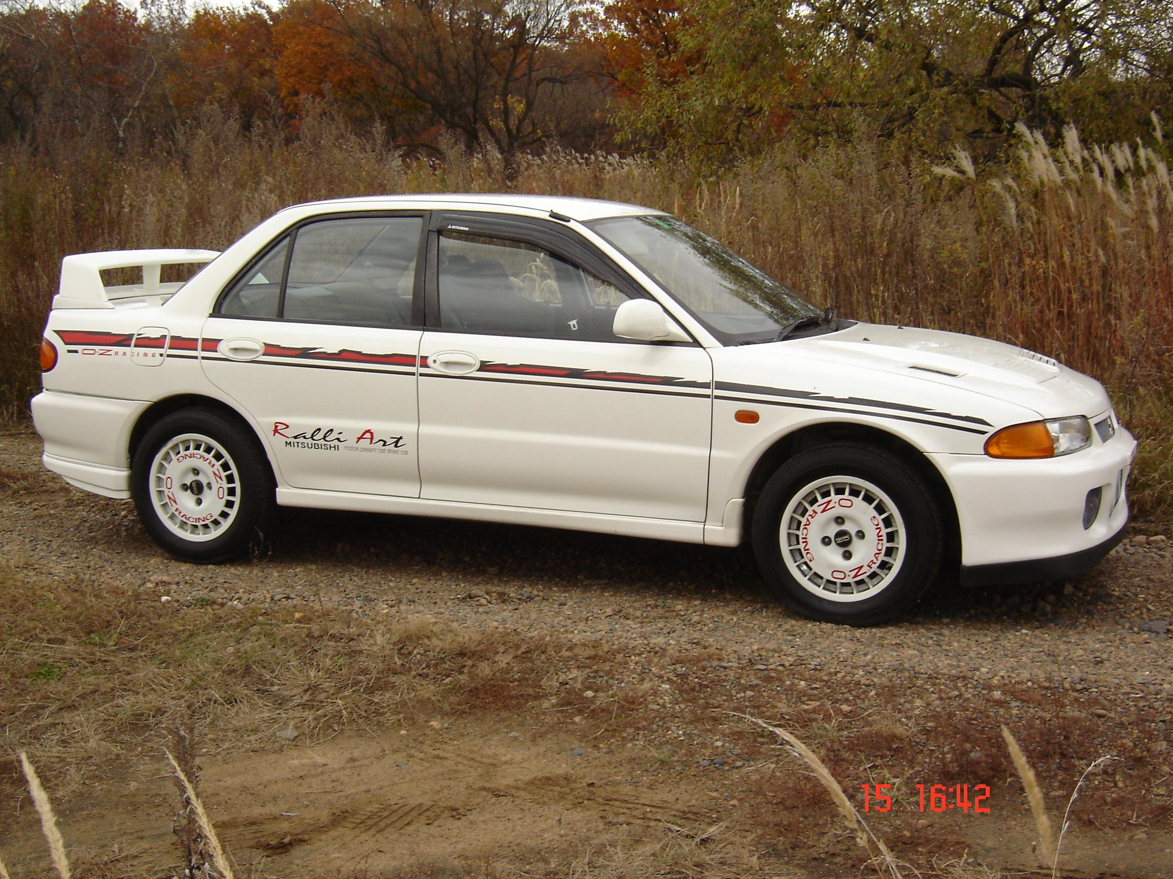 1994 Mitsubishi Lancer Evolution Pictures, 2000cc., Gasoline, Manual For Sale
