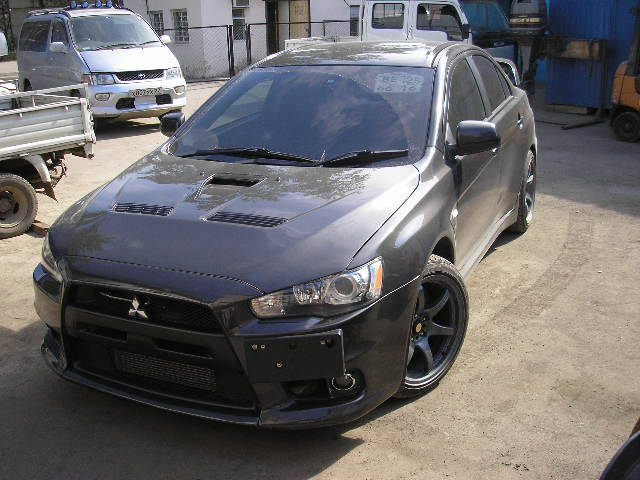 used 2009 mitsubishi lancer evolution photos 2000cc gasoline automatic for sale. Black Bedroom Furniture Sets. Home Design Ideas