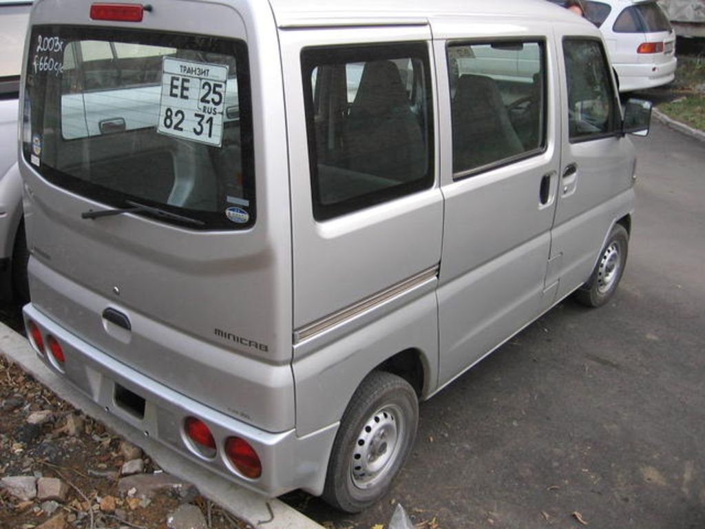 Mitsubishi minicab specifications