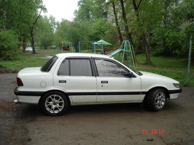 Mitsubishi mirage 1988