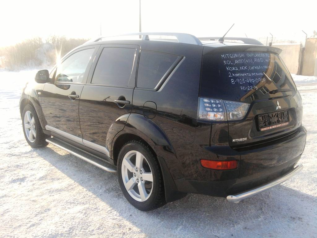 2008 mitsubishi outlander photos 3 0 automatic for sale. Black Bedroom Furniture Sets. Home Design Ideas