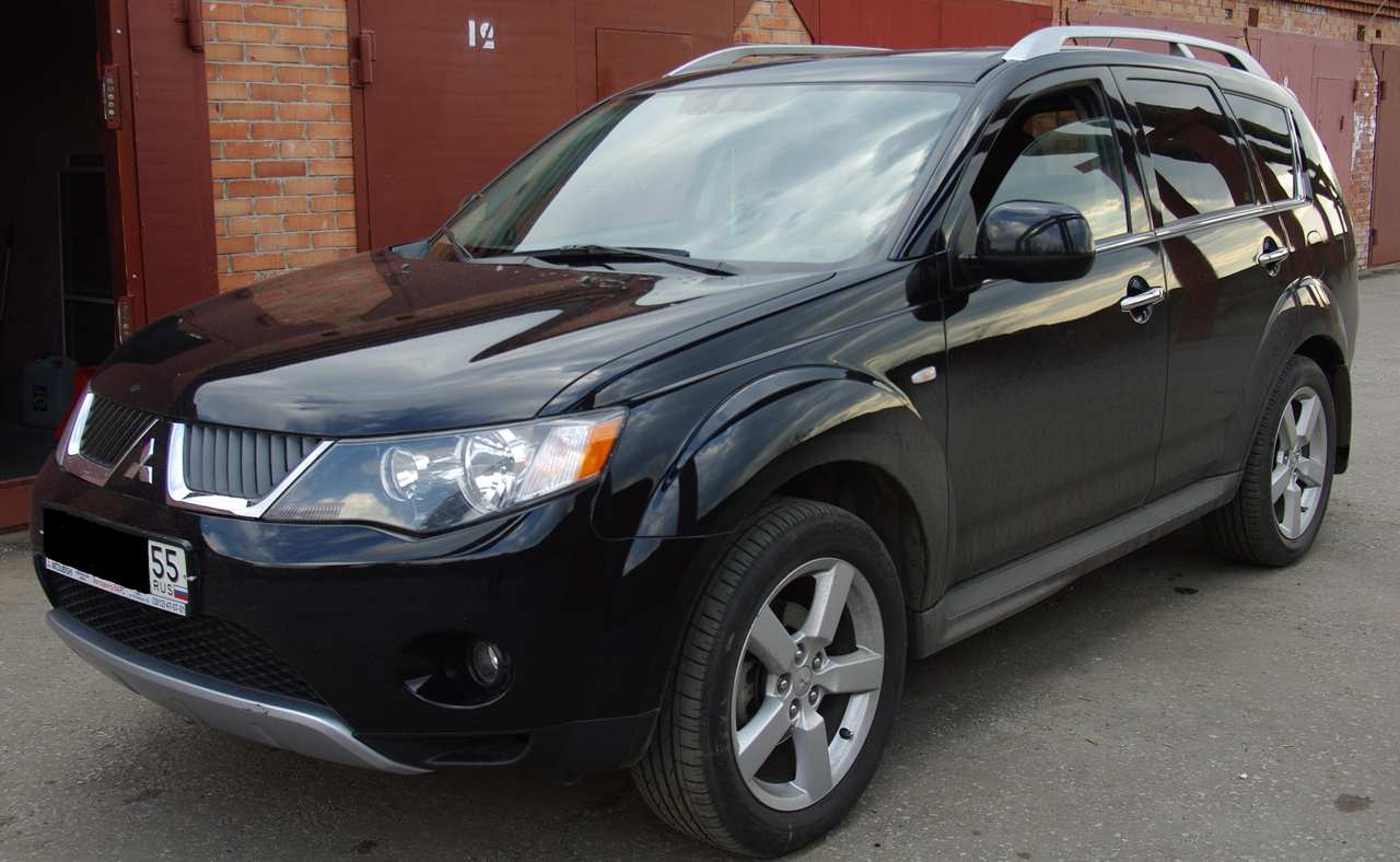 used 2008 mitsubishi outlander photos 2400cc gasoline cvt for sale. Black Bedroom Furniture Sets. Home Design Ideas