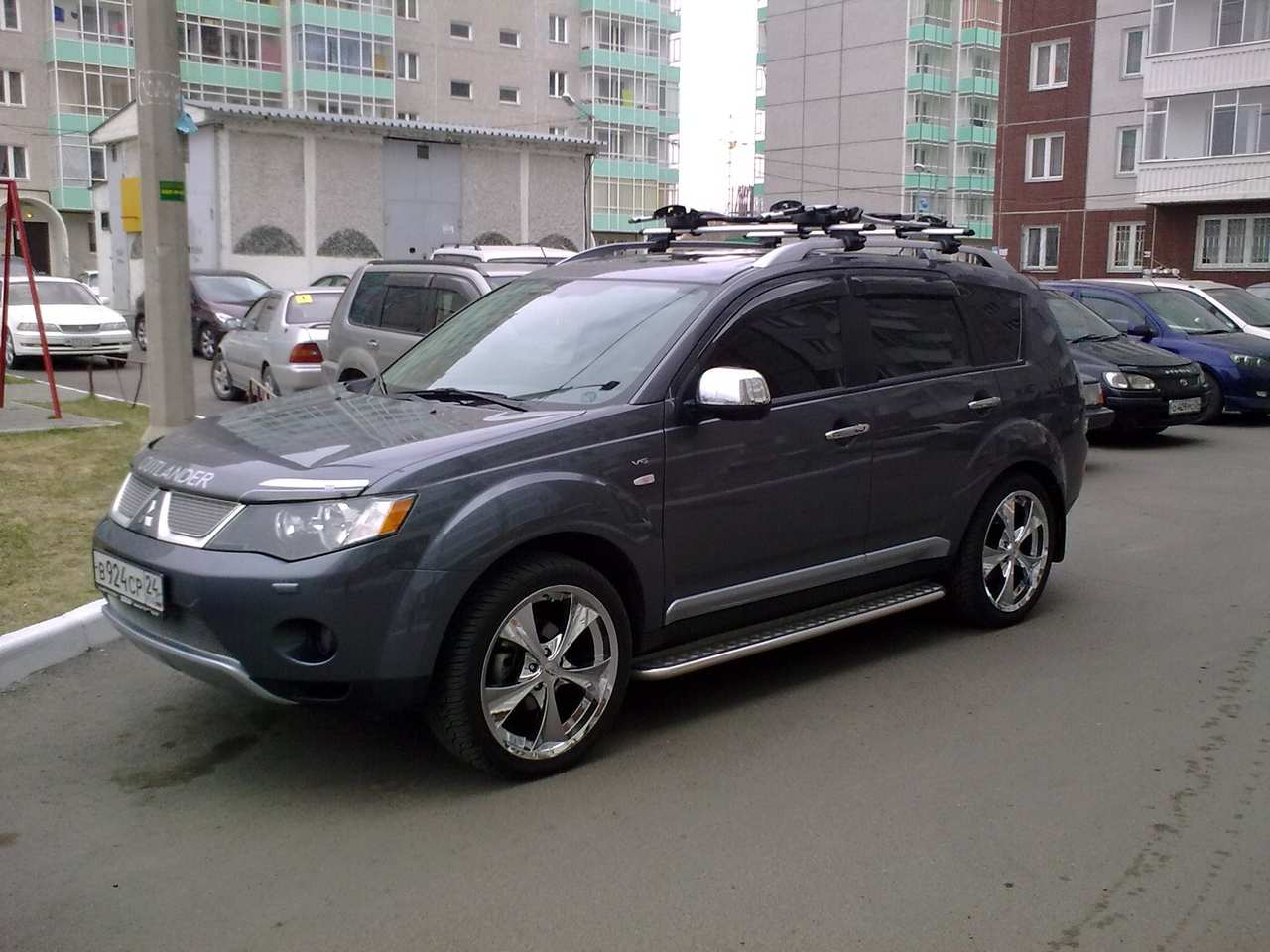 2008 mitsubishi outlander pictures gasoline automatic for sale. Black Bedroom Furniture Sets. Home Design Ideas