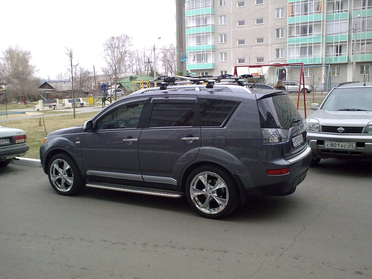 2008 mitsubishi outlander photos 3 0 gasoline automatic for sale. Black Bedroom Furniture Sets. Home Design Ideas