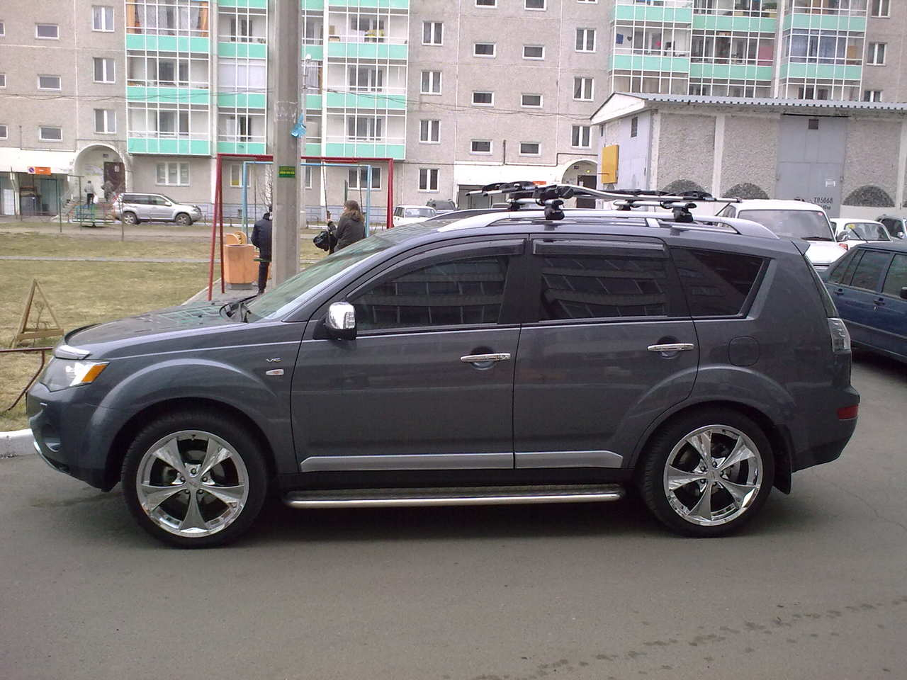 used 2008 mitsubishi outlander photos 3000cc gasoline automatic for sale. Black Bedroom Furniture Sets. Home Design Ideas