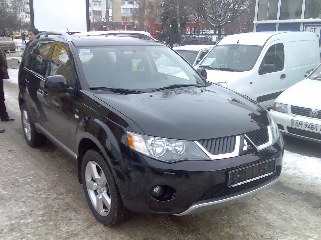 used 2009 mitsubishi outlander photos 3000cc gasoline. Black Bedroom Furniture Sets. Home Design Ideas