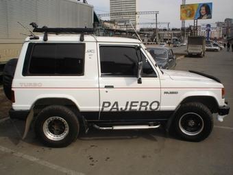1986 Mitsubishi Pajero Photos, 2.5, sel, Manual For Sale