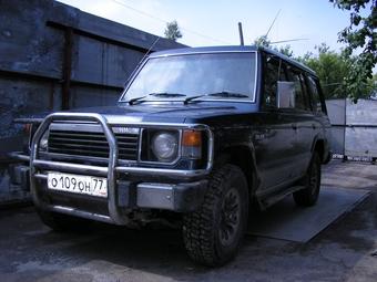 1987 mitsubishi pajero pictures 2 5l diesel automatic for sale rh cars directory net Mitsubishi Pajero 2004 1998 Mitsubishi Pajero Car