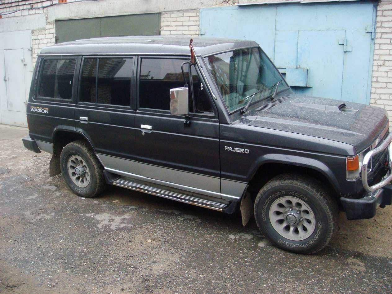 1990 Mitsubishi Pajero Pictures 2 5l Diesel Automatic For Sale