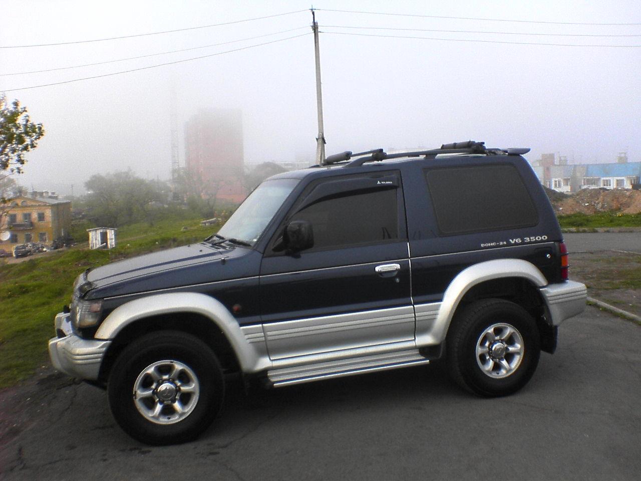 1995 Mitsubishi Pajero Pictures, 3500cc., Gasoline, Automatic For Sale
