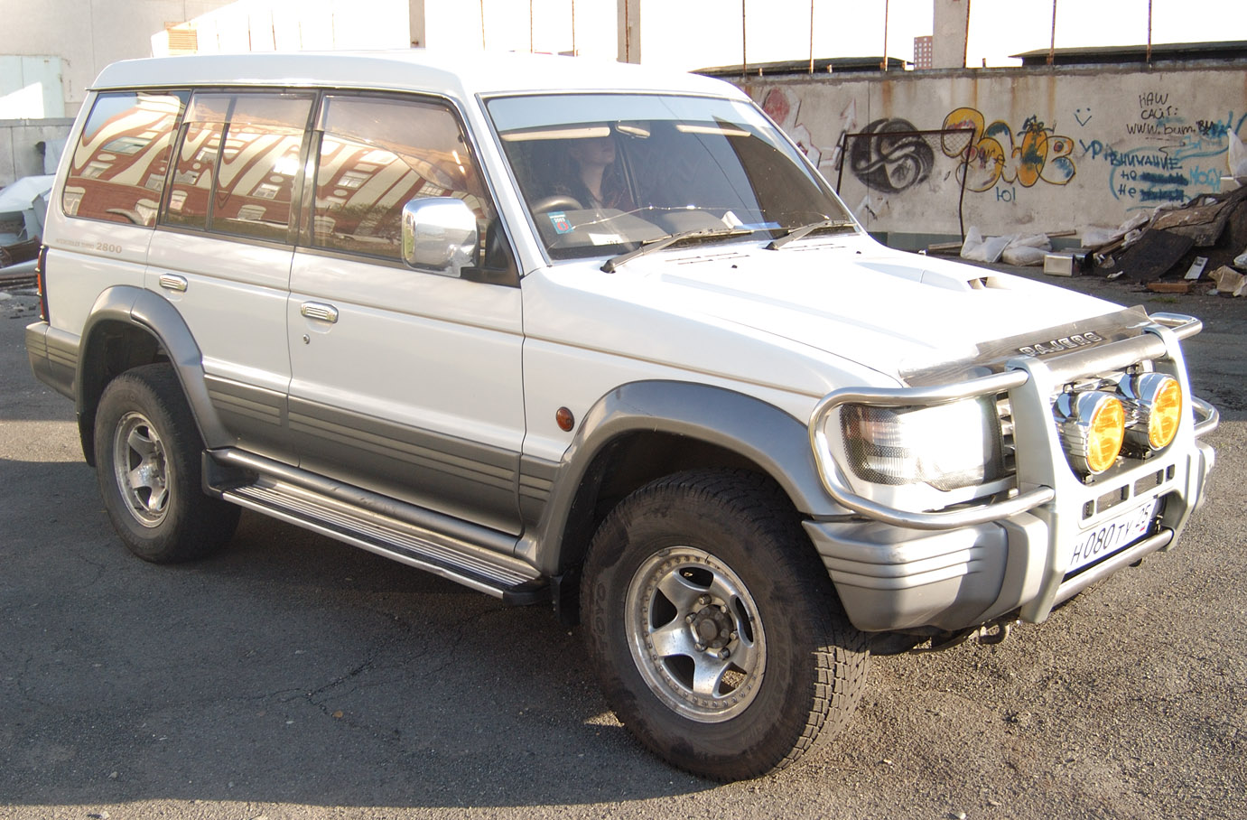 1995 Mitsubishi Pajero Pictures 2800cc Diesel