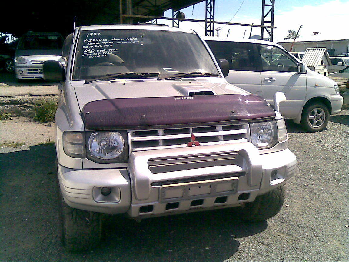 1997 mitsubishi pajero for sale 2 8 diesel automatic. Black Bedroom Furniture Sets. Home Design Ideas