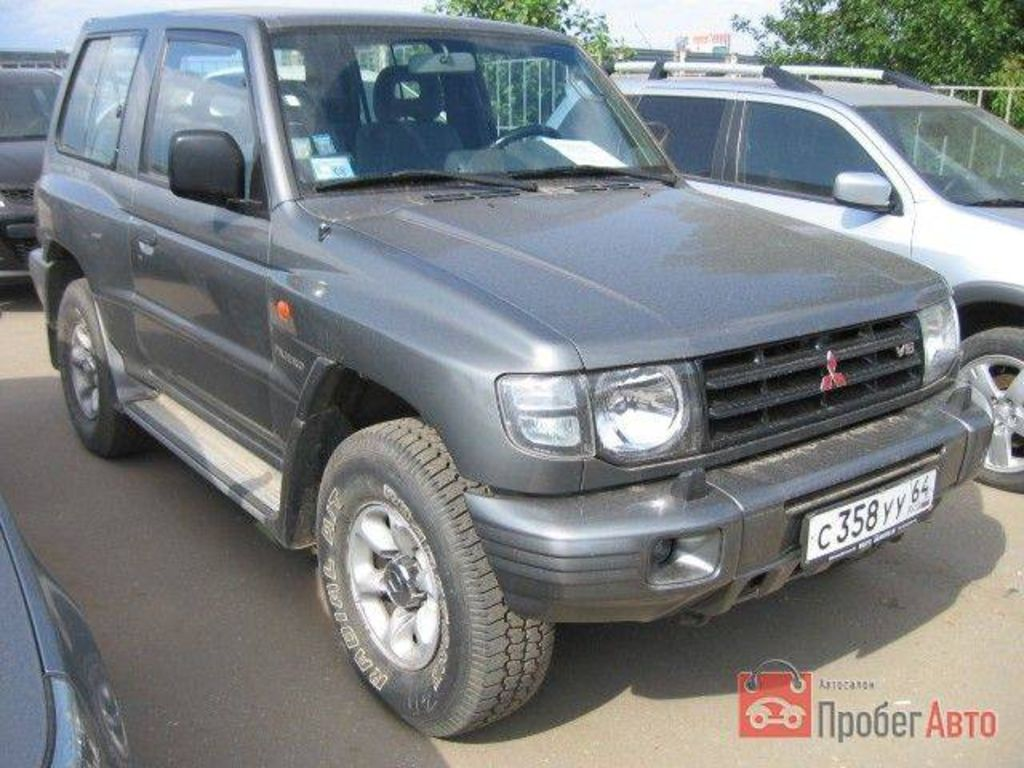 1998 Mitsubishi Pajero Pictures For Sale