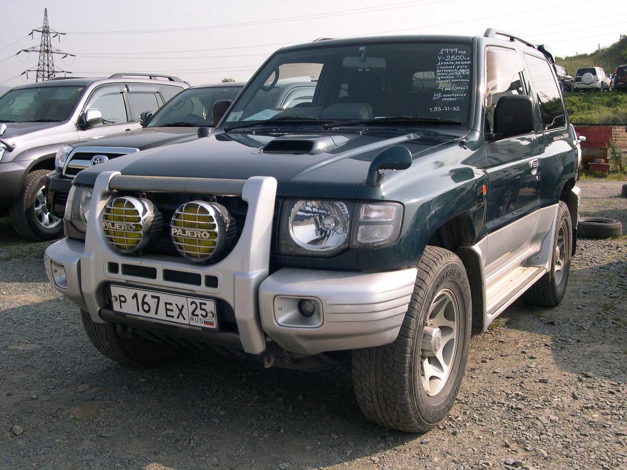 1999 Mitsubishi Pajero Photos 2 8 Diesel Automatic For Sale