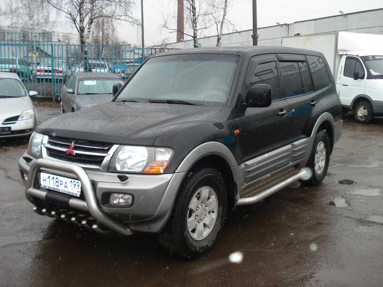 2002 mitsubishi pajero wallpapers, 3.2l., diesel, automatic for sale