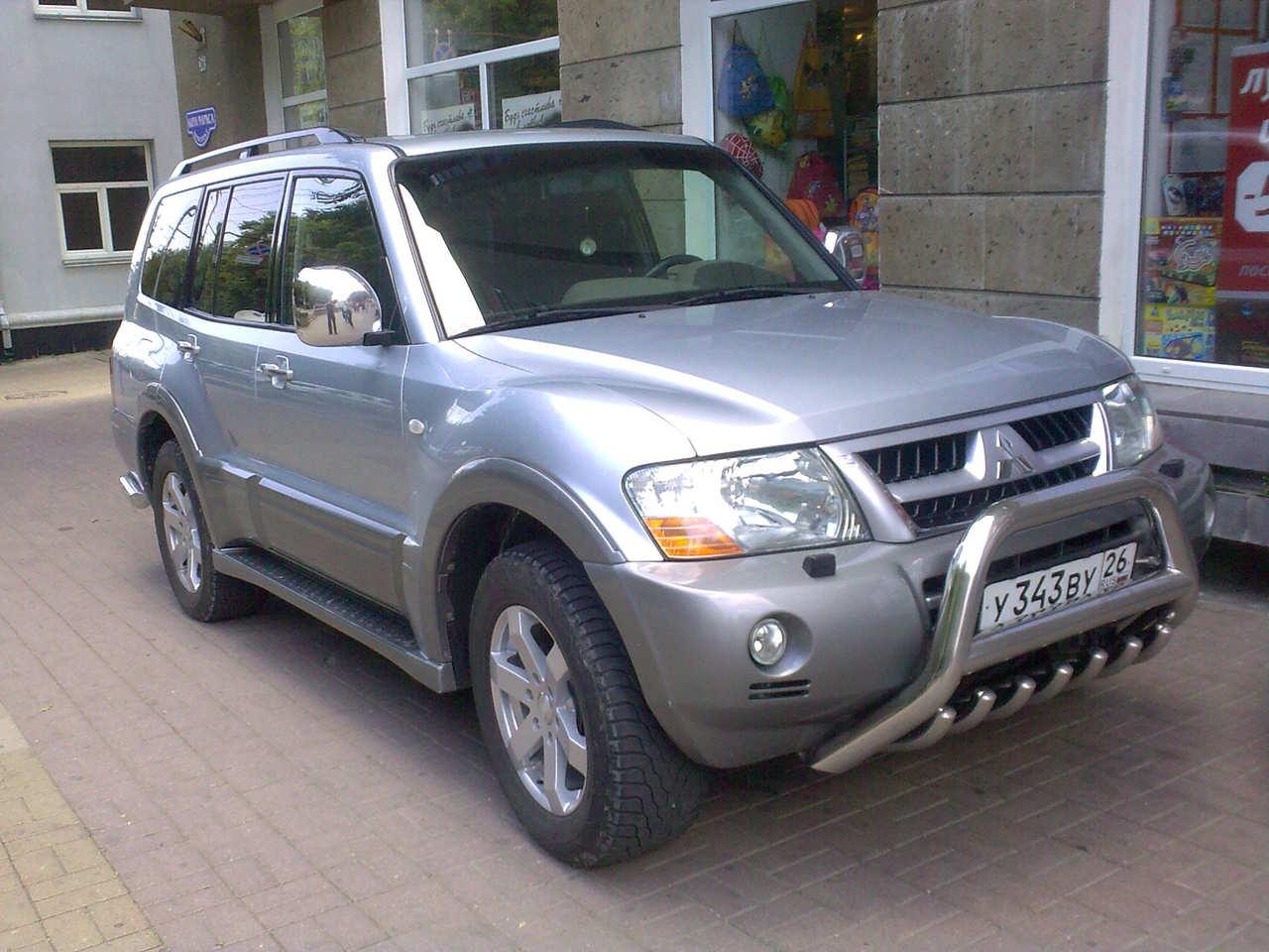 2004 Mitsubishi Pajero Pictures, 3500cc., Gasoline, Automatic For Sale