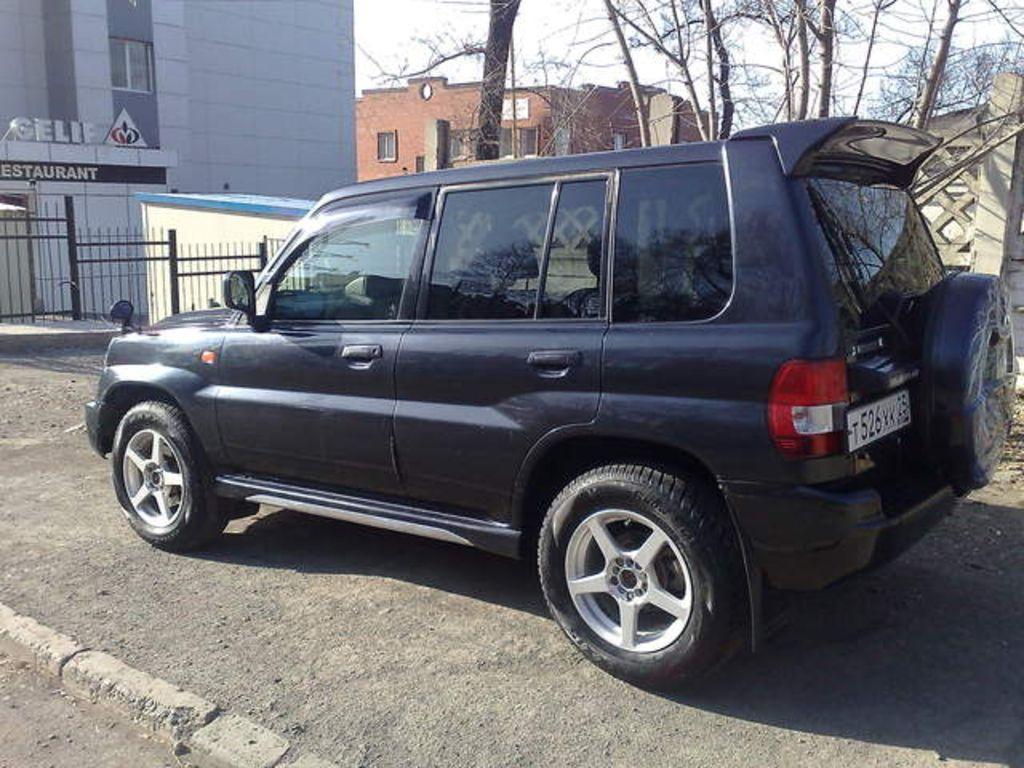 Oil Leak In Car >> 2000 Mitsubishi Pajero IO Pictures